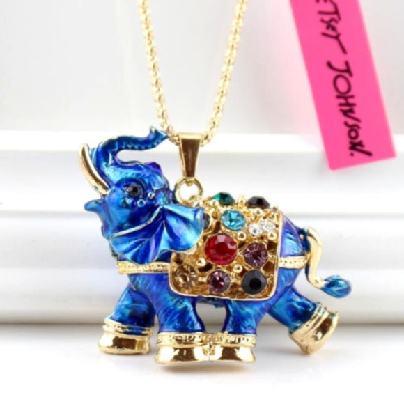 Pendant Betsey Johnson Fashion Flowers Women Gift Chain Jewelry Enamel Necklace
